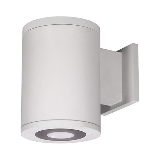 WAC Lighting 5-Inch White LED Ultra Narrow Tube Architectural Up and Down Wall Light 3000K 413LM DS-WD05-U30B-WT