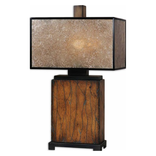 Uttermost Lighting Uttermost Sitka Wood Table Lamp 26757-1