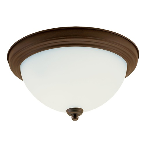 Sea Gull Lighting Sea Gull Lighting Ceiling Flush Mount Russet Bronze LED Flushmount Light 77064S-829