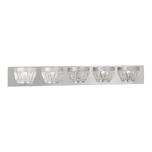 Livex Lighting Livex Lighting Chromata Chrome Bathroom Light 1635-05