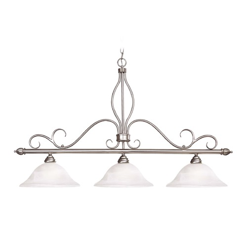 Savoy House Savoy House Pewter Island Light with Bell Shade KP-1-1903-3-69