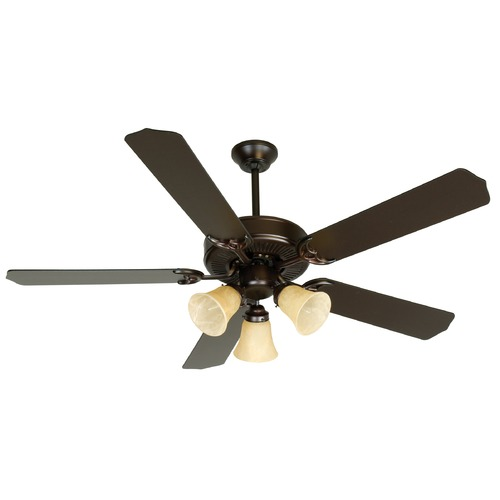 Craftmade Lighting Craftmade Pro Builder 206 Oiled Bronze Ceiling Fan with Light K10641