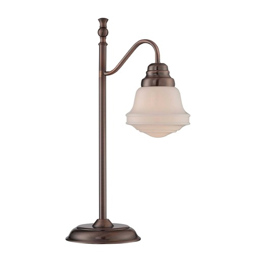 Lite Source Lighting Lite Source Towne Antique Copper Table Lamp LS-22742