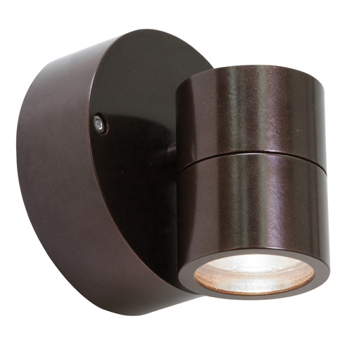 Access Lighting Outdoor Wall Light with Clear Glass in Bronze Finish 20350MG-BRZ/CLR