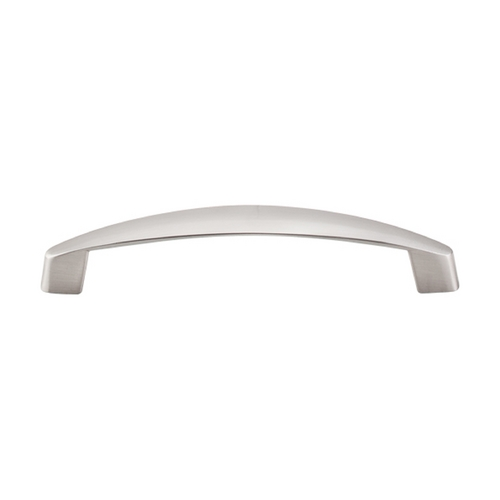 Top Knobs Hardware Modern Cabinet Pull in Brushed Satin Nickel Finish M1140