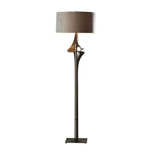 Hubbardton Forge Lighting Forged Iron Floor Lamp with Shade 232810-SKT-08-SD1899