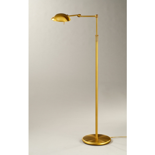 Holtkoetter Lighting Holtkoetter Modern Swing Arm Lamp in Antique Brass Finish 2508 AB