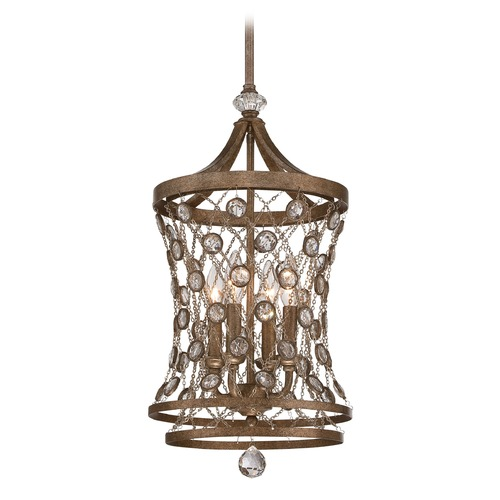 Metropolitan Lighting Metropolitan Vel Catena Arcadian Gold Pendant Light N6584-272