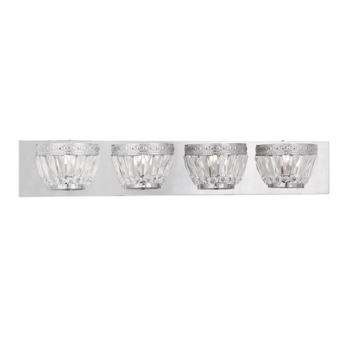 Livex Lighting Livex Lighting Chromata Chrome Bathroom Light 1634-05