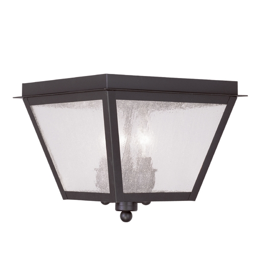 Livex Lighting Livex Lighting Amwell Bronze Close To Ceiling Light 2549-07