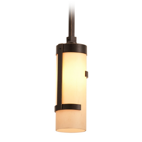 Kalco Lighting Kalco Lighting Emsworth Tawny Port Mini-Pendant Light with Cylindrical Shade 3015TP
