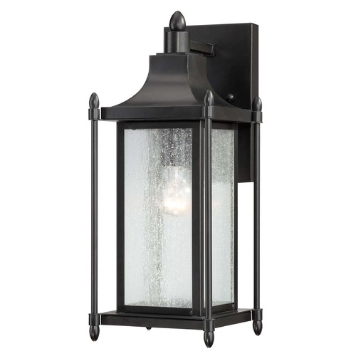 Savoy House Savoy House Black Outdoor Wall Light 5-3451-BK