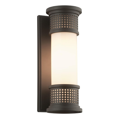 Troy Lighting Troy Lighting Mcqueen Bronze LED Outdoor Wall Light BL4671-C