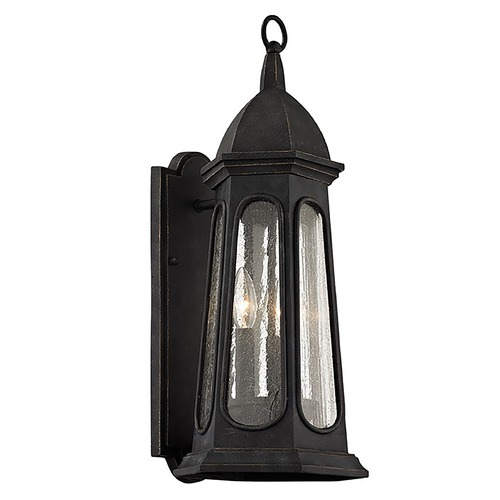 Troy Lighting Troy Lighting Astor Vintage Iron Outdoor Wall Light B6362