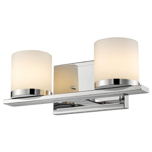 Z-Lite Z-Lite Nori Chrome Bathroom Light 1912-2V-CH
