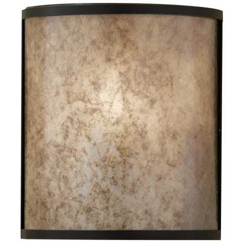 Feiss Lighting Modern Sconce Wall Light in Light Antique Bronze Finish WB1566LAB
