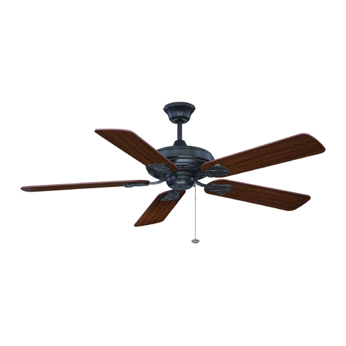 Craftmade Lighting Ceiling Fan Without Light in Aged Bronze Finish MAJ52ABZ5