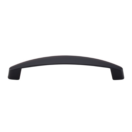Top Knobs Hardware Modern Cabinet Pull in Flat Black Finish M1141