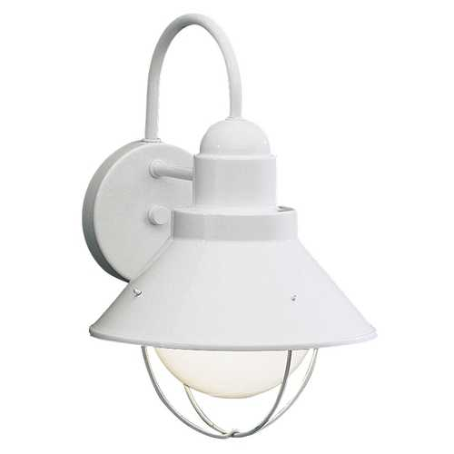 Kichler Lighting Kichler Outdoor Wall Light in White Finish 9022WH
