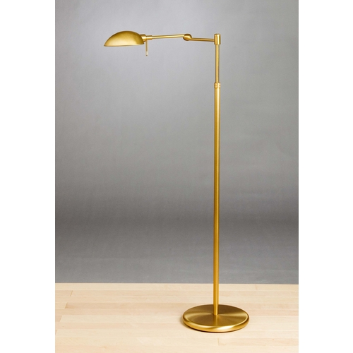 Holtkoetter Lighting Holtkoetter Modern Swing Arm Lamp in Antique Brass Finish 2508P1 AB