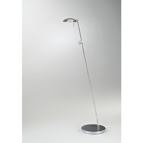 Holtkoetter Lighting Holtkoetter Modern Floor Lamp in Chrome Finish 6470 CH