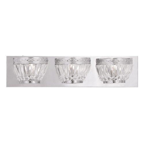 Livex Lighting Livex Lighting Chromata Chrome Bathroom Light 1633-05