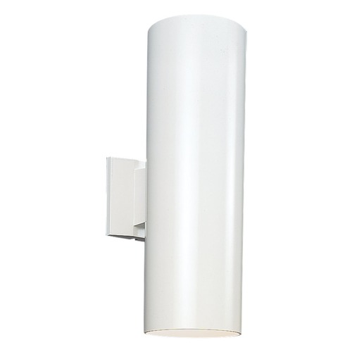 Sea Gull Lighting Sea Gull Lighting Outdoor Bullets White LED Outdoor Wall Light 8413991S-15