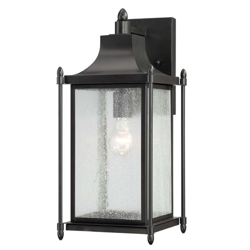Savoy House Savoy House Black Outdoor Wall Light 5-3452-BK