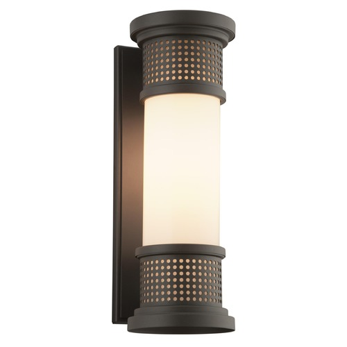 Troy Lighting Troy Lighting Mcqueen Bronze LED Outdoor Wall Light BL4672