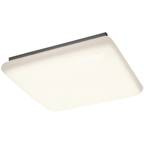 Kichler Lighting Kichler Modern Flushmount Light with White Acrylic in White Finish 10304WH