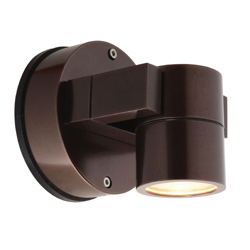 Access Lighting Outdoor Wall Light with Clear Glass in Bronze Finish 20351MG-BRZ/CLR