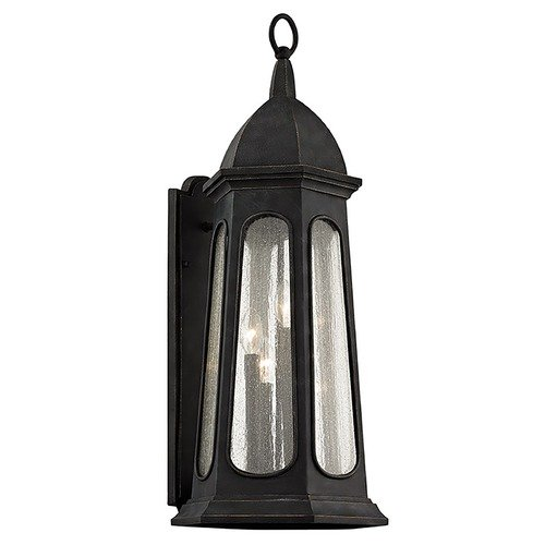 Troy Lighting Troy Lighting Astor Vintage Iron Outdoor Wall Light B6363