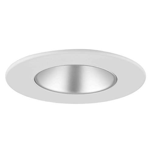 Recesso Lighting by Dolan Designs GU10 Satin Reflector Trim for 3.5-Inch Recessed Cans T351S-WH