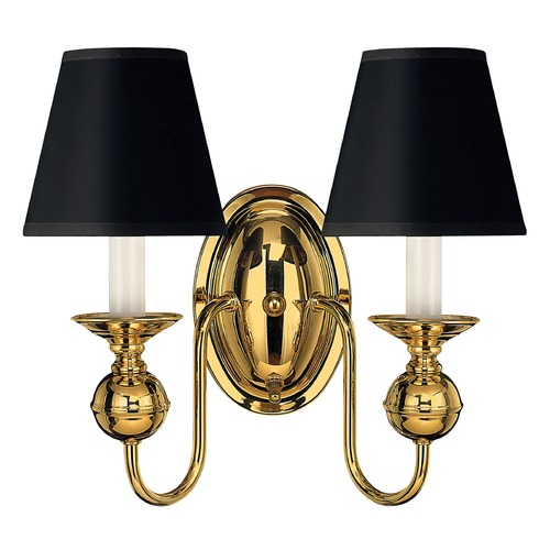Hinkley Sconce Wall Light in Polished Brass Finish 5124PB