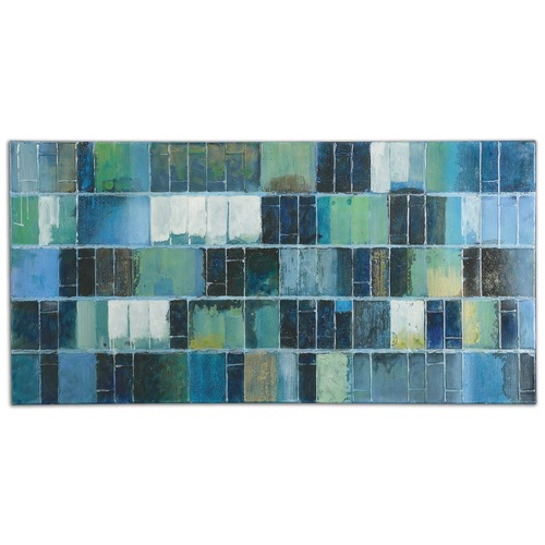 Uttermost Lighting Uttermost Glass Tiles Modern Art 34300