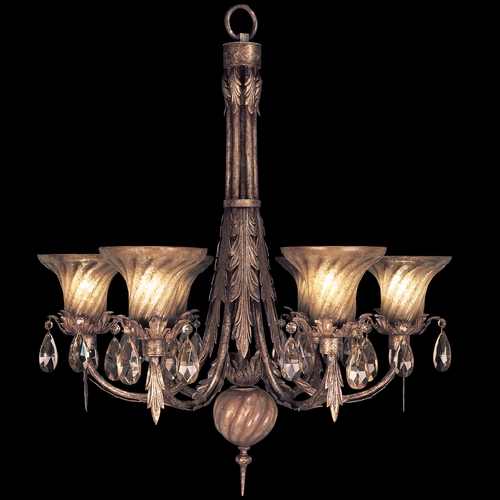 Fine Art Lamps Fine Art Lamps a Midsummer Nights Dream Cool Moonlit Patina Crystal Chandelier 146942ST