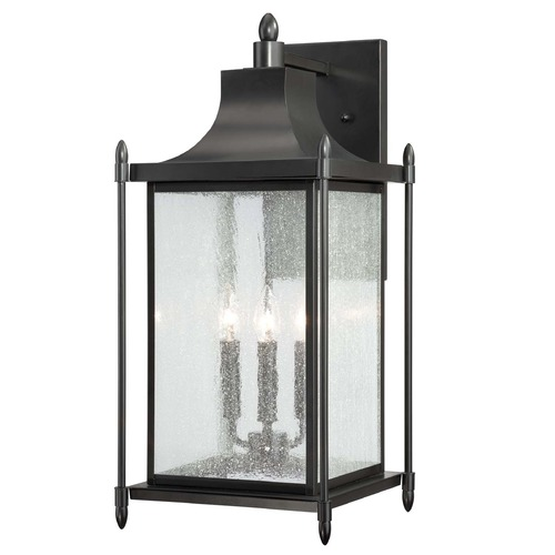 Savoy House Savoy House Black Outdoor Wall Light 5-3453-BK