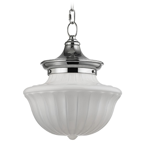 Hudson Valley Lighting Dutchess 1 Light Pendant Light - Polished Nickel 5012-PN