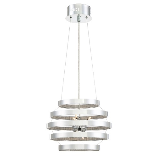 Quoizel Lighting Quoizel Lighting Platinum Collection Arena Polished Chrome Pendant Light PCAN2814C