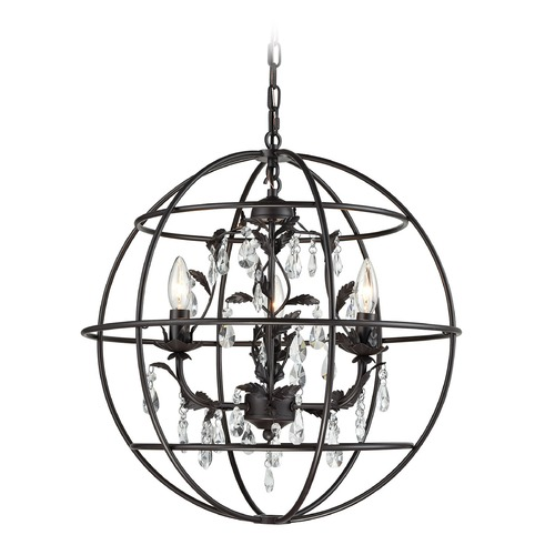 Elk Lighting Elk Lighting Bridget Oil Rubbed Bronze Mini-Chandelier 18223/3