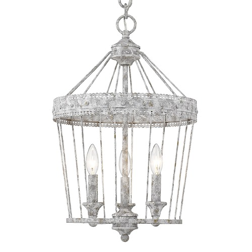Golden Lighting Golden Lighting Ferris Oyster Pendant Light 7856-3POY
