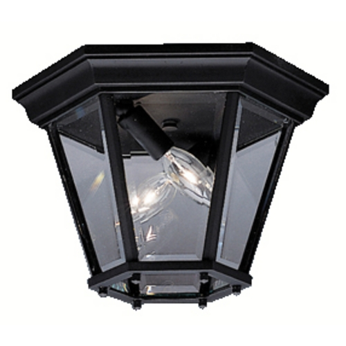 Kichler Lighting Kichler Close To Ceiling Light in Black Finish 9850BK