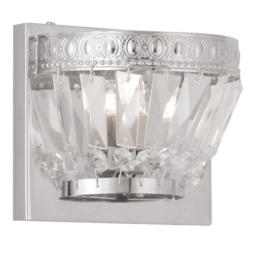 Livex Lighting Livex Lighting Chromata Chrome Sconce 1631-05