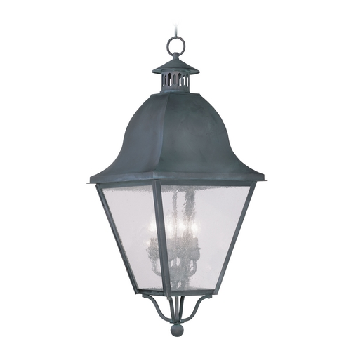 Livex Lighting Livex Lighting Amwell Charcoal Outdoor Hanging Light 2547-61