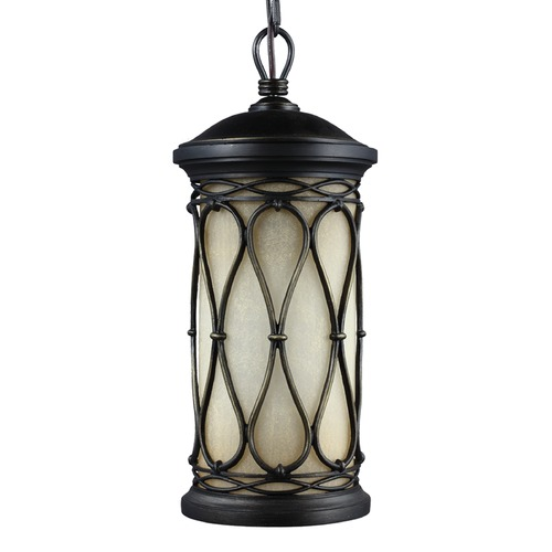 Feiss Lighting Feiss Lighting Wellfleet Aged Bronze Outdoor Hanging Light OL10909ABR
