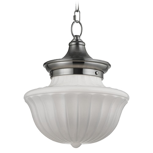 Hudson Valley Lighting Dutchess 1 Light Pendant Light - Satin Nickel 5012-SN