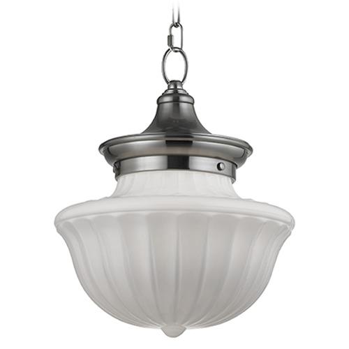 Hudson Valley Lighting Dutchess: Dutchess 1 Light Pendant Light - Satin Nickel