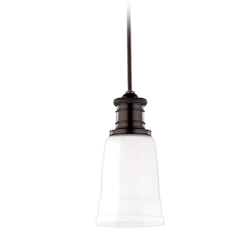 Hudson Valley Lighting Hudson Valley Lighting Bradford Old Bronze Mini-Pendant Light with Bell Shade 2521-OB