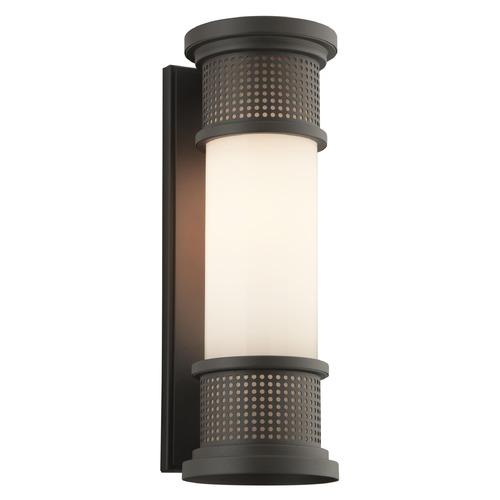 Troy Lighting Troy Lighting Mcqueen Bronze LED Outdoor Wall Light BL4673