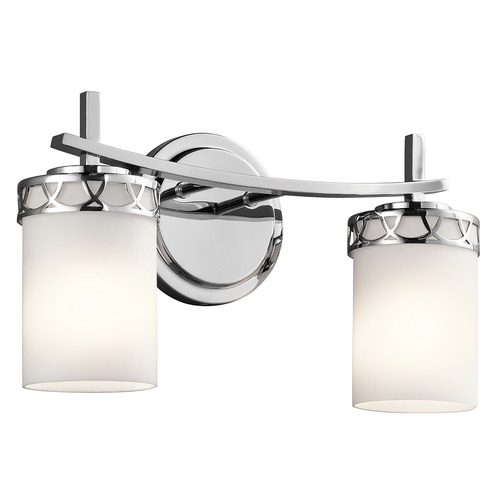 Kichler Lighting Kichler Lighting Marlowe Chrome LED Bathroom Light 45585CHL16